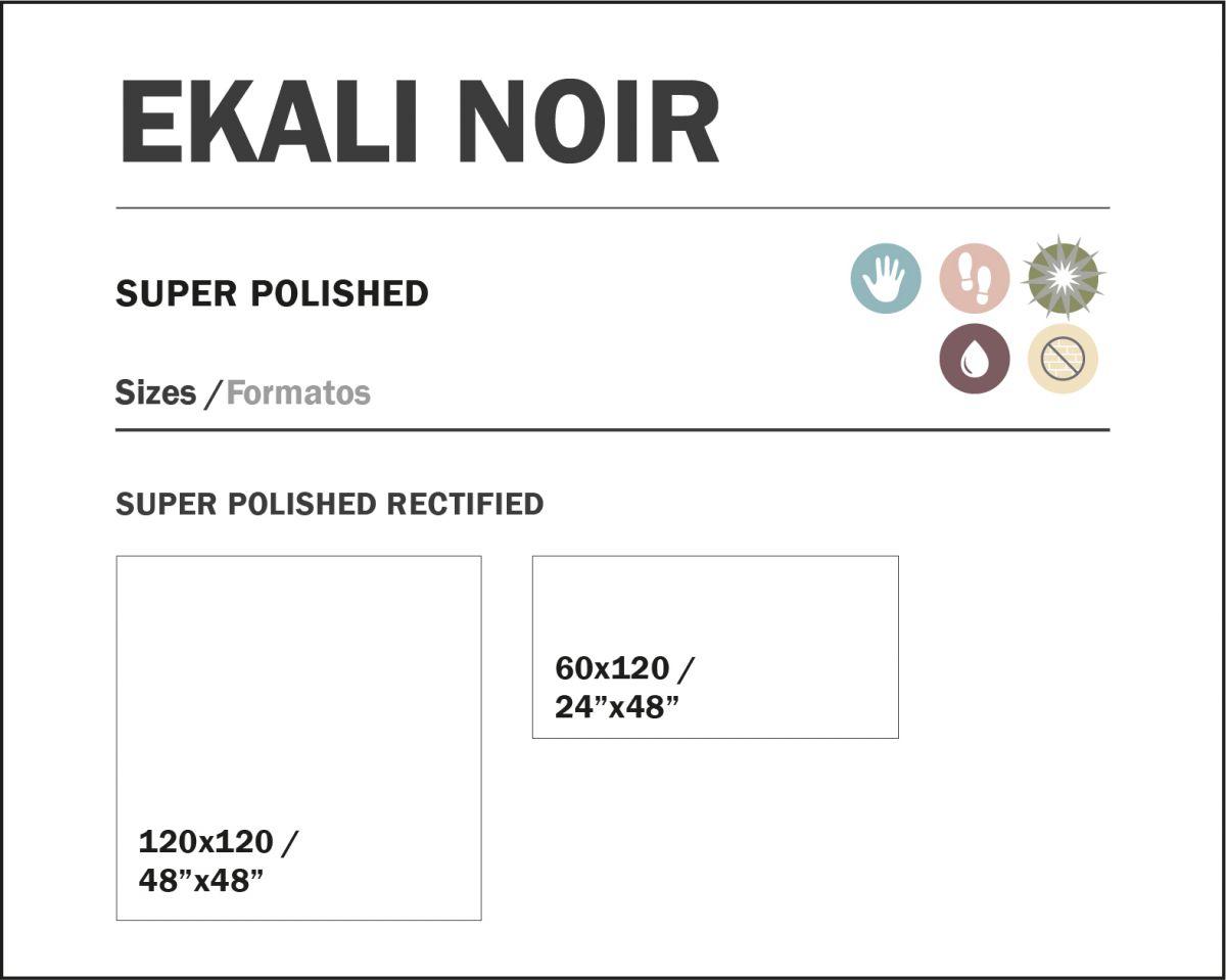 120x120 cm ekali noir topkwaliteit spaans tegels