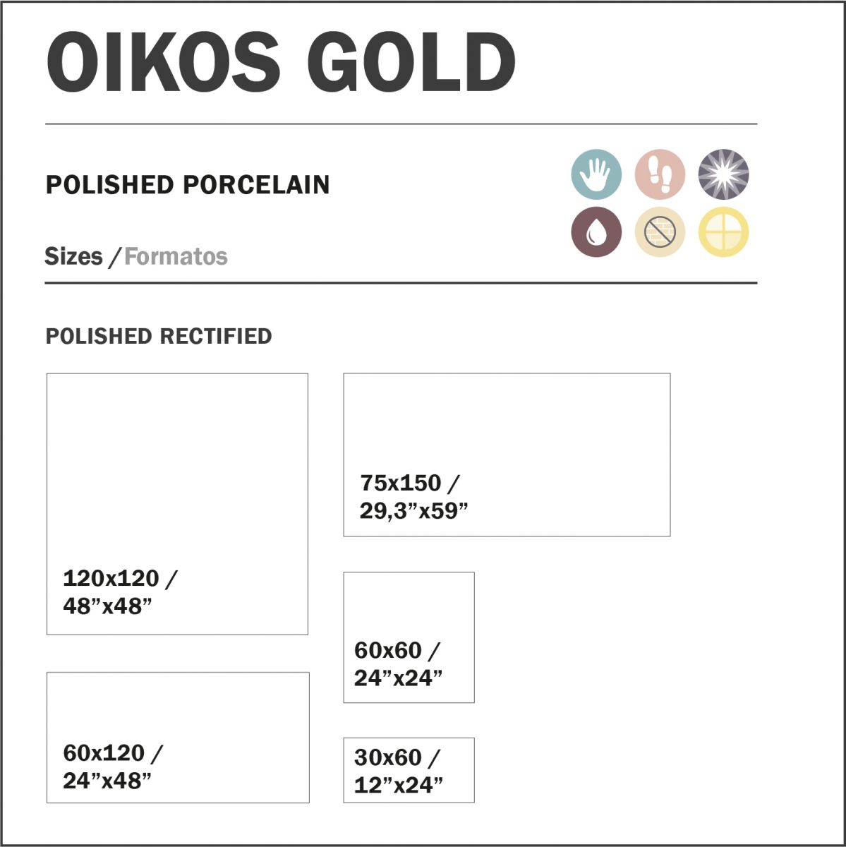 120x120 cm oikos gold glans topkwaliteit spaans tegels