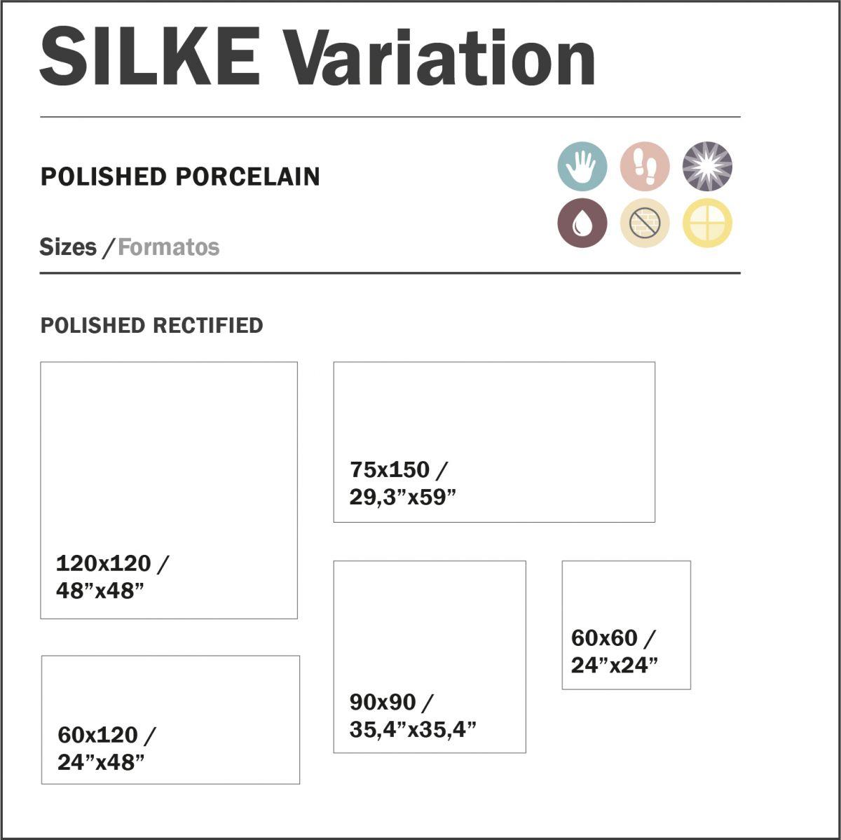 120x120 cm silke variation topkwaliteit spaans tegels