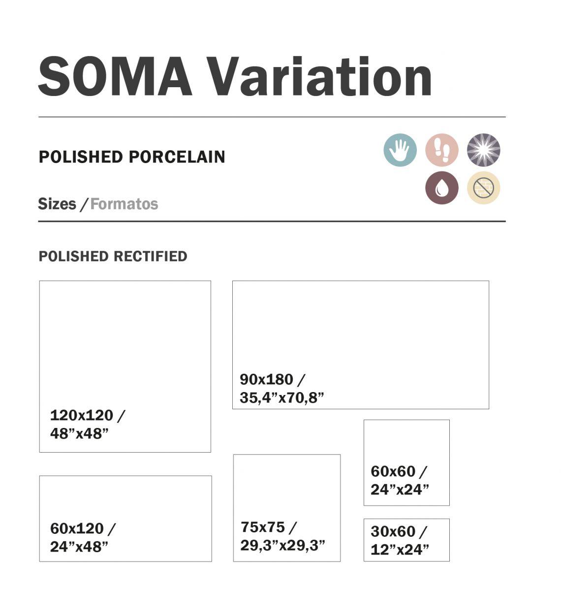 120x120 cm soma variation topkwaliteit spaans tegels