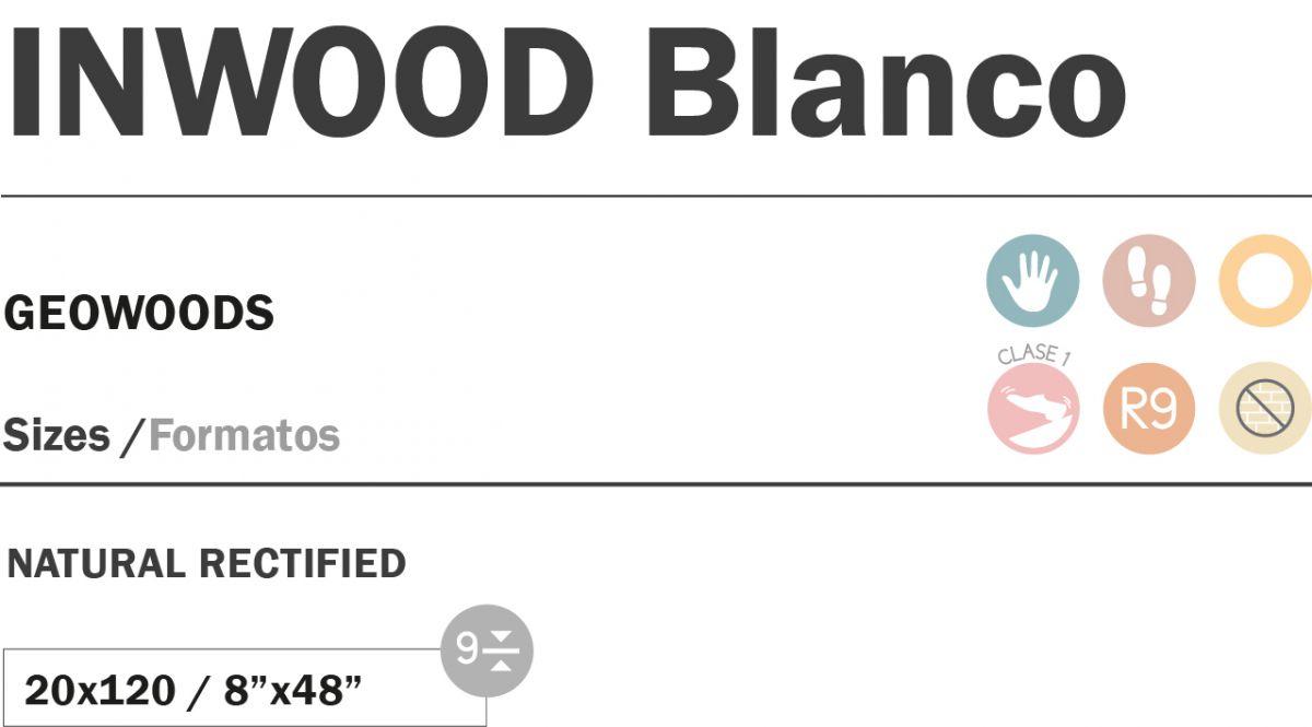 20x120 cm inwood blanco topkwaliteit spaans tegels
