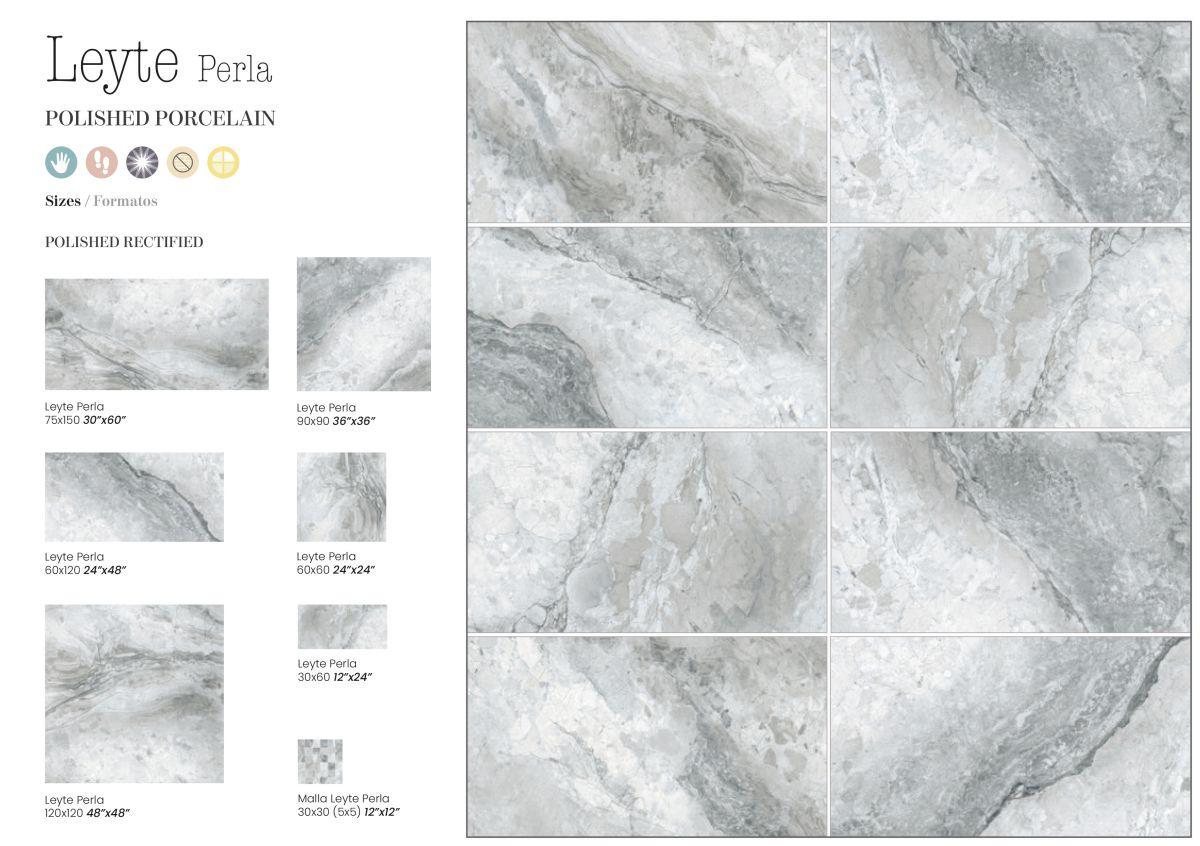 60x120 cm leyte perla geotiles