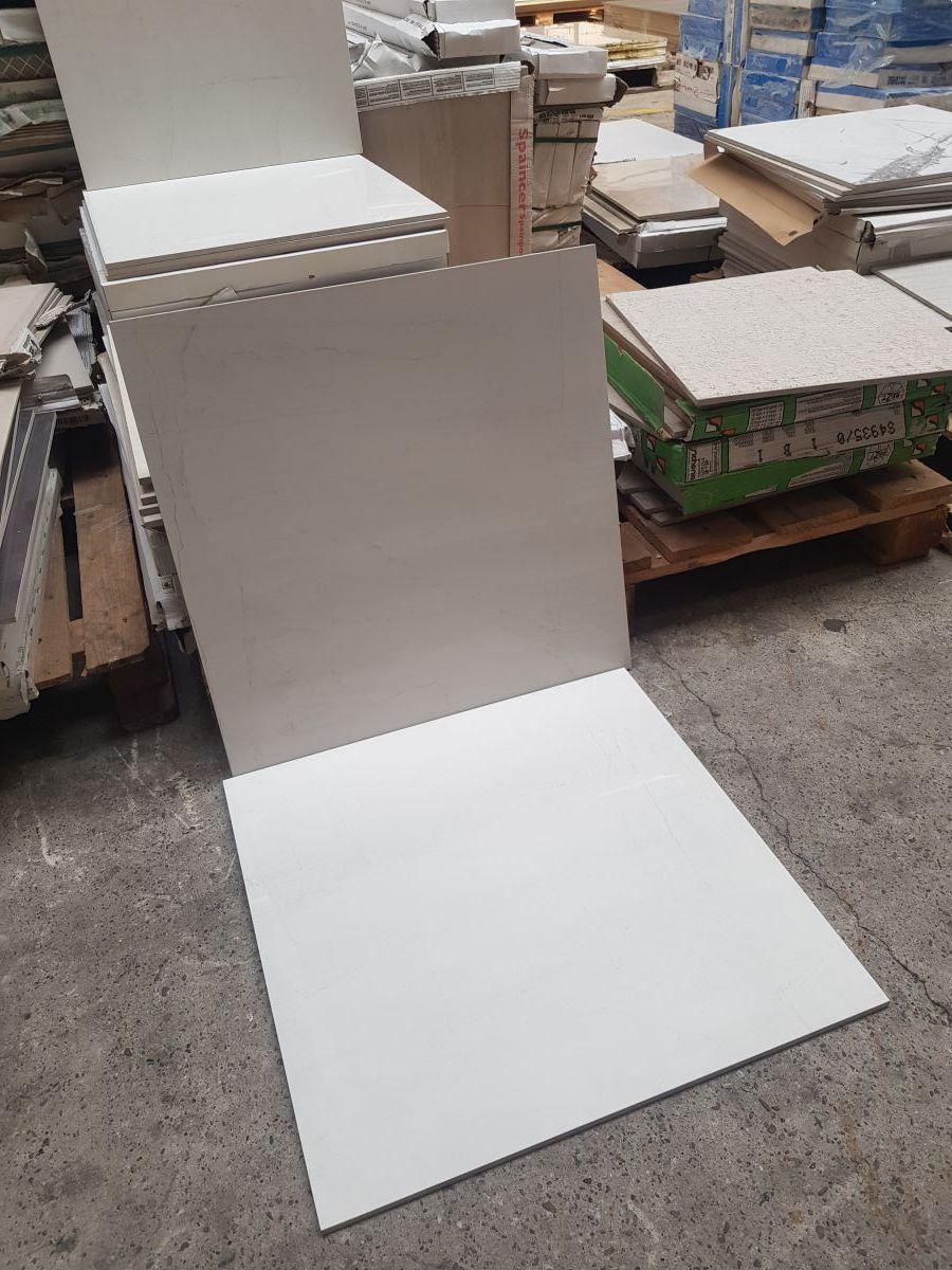 60x60 cm marmerlook blanco geotiles
