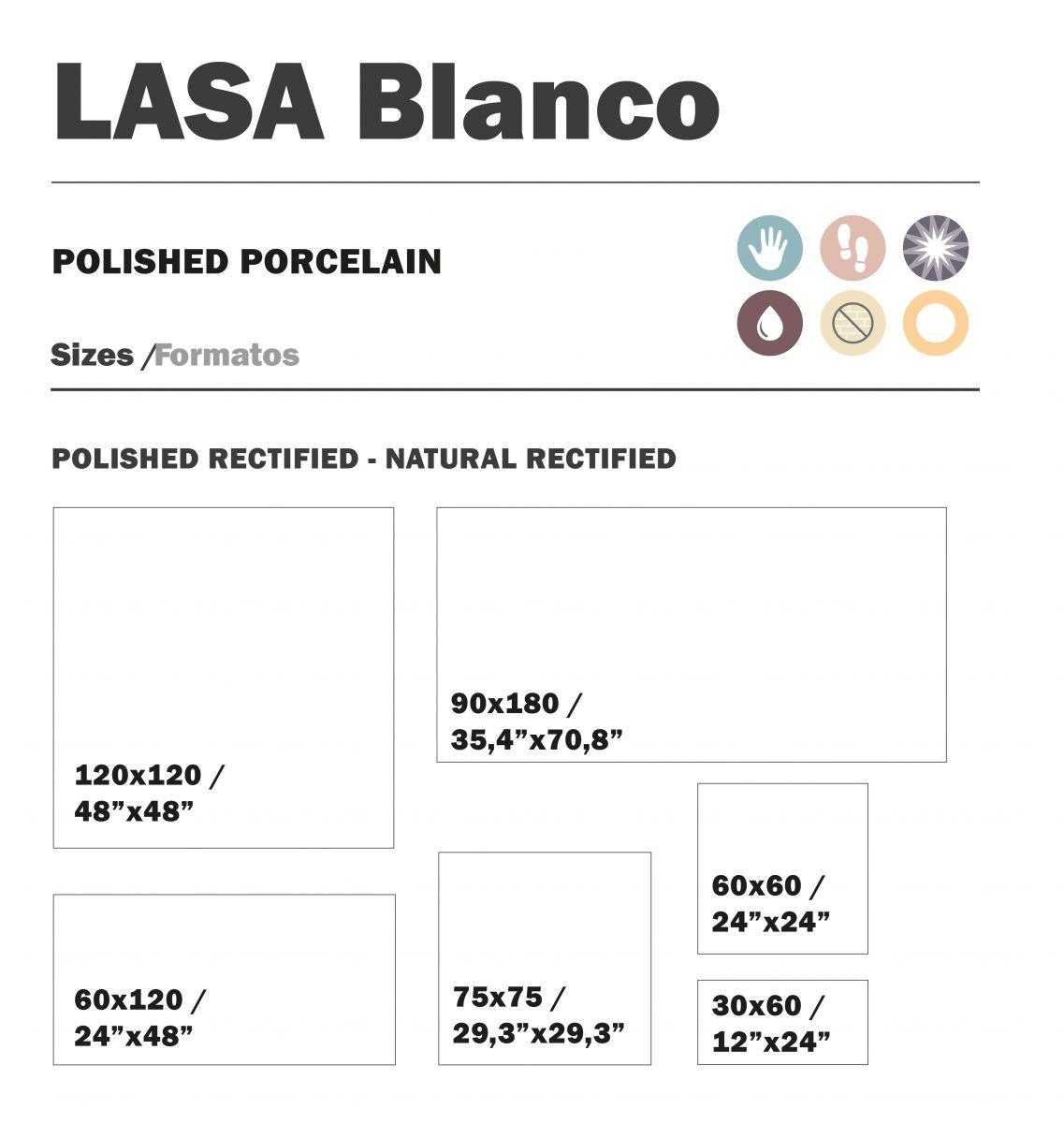 90x180 cm lasa blanco topkwaliteit spaans tegels