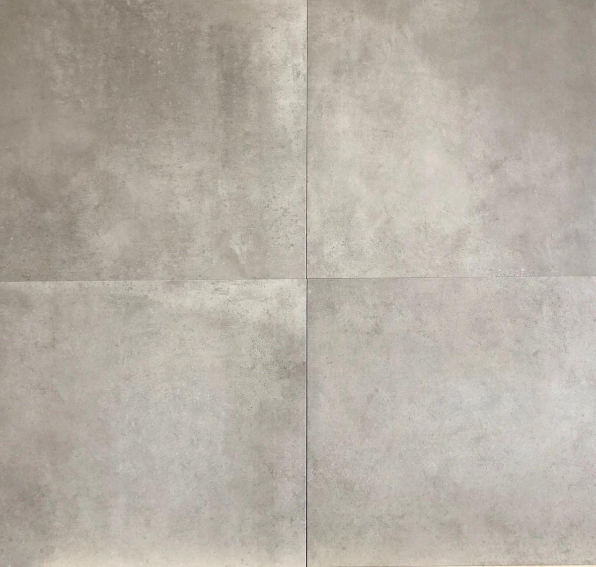 vloertegel 3060 cm betonlook licht grijs