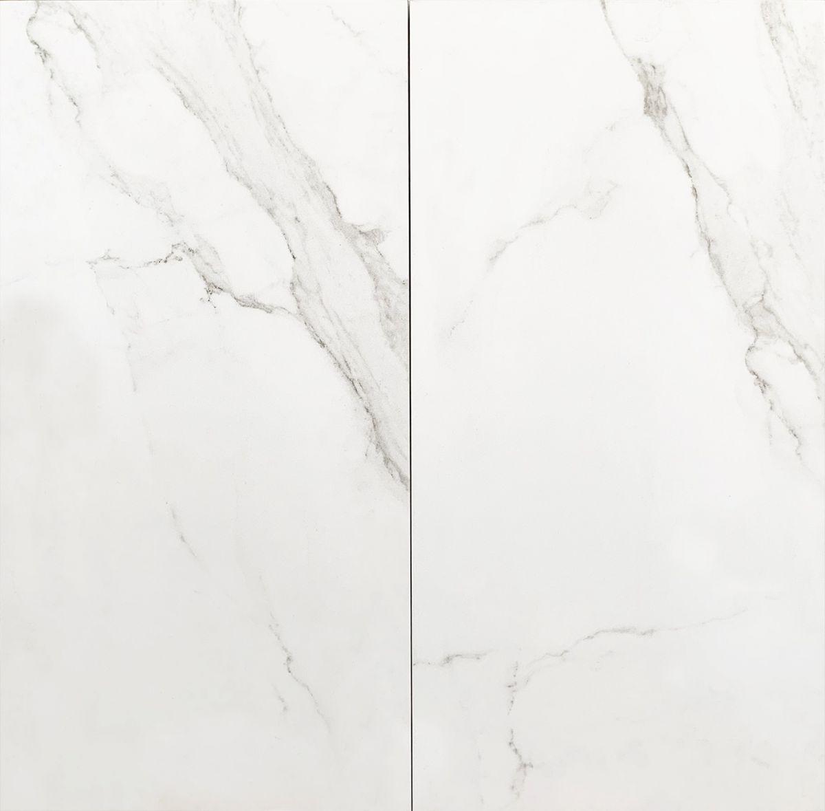 vloertegel 3060 cm statuario marmerlook mat wit