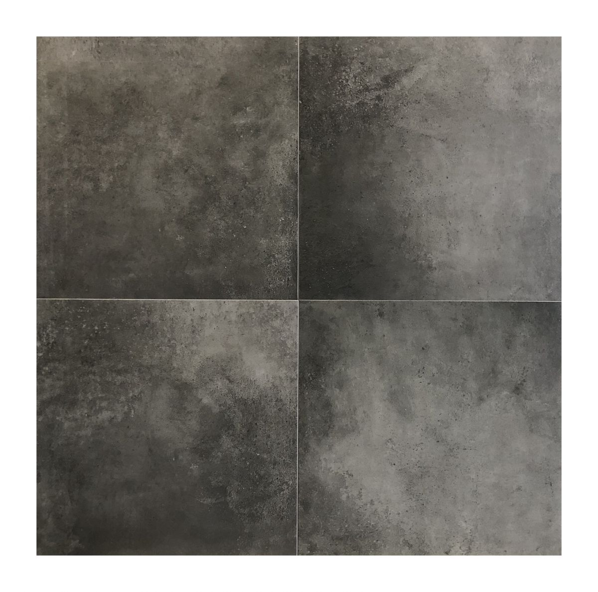 vloertegel 6060 cm betonlook antraciet
