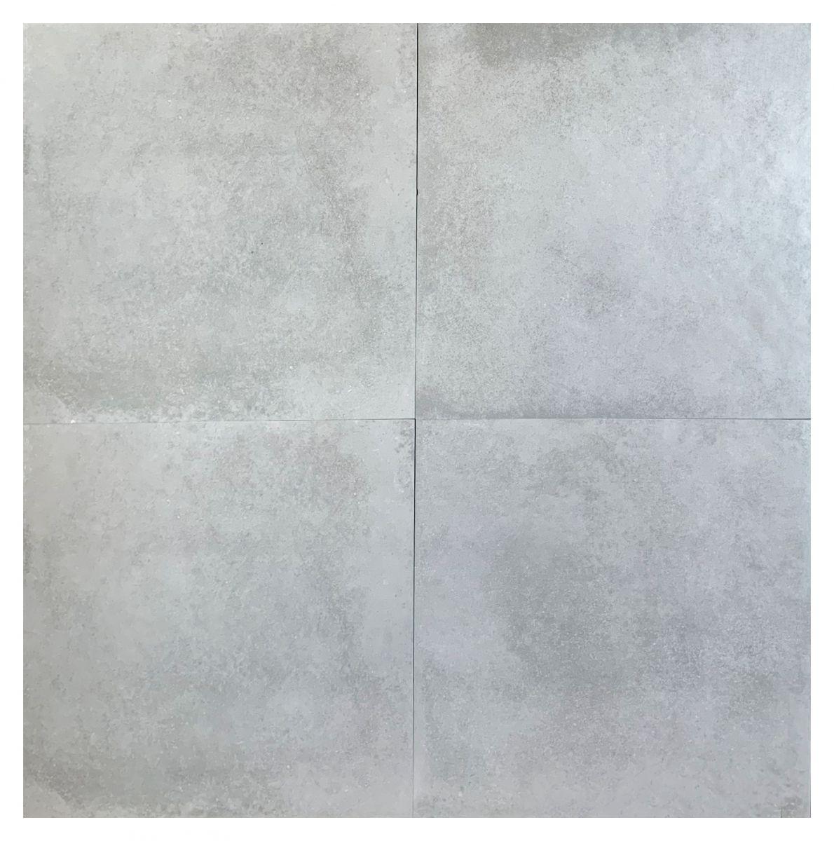 vloertegel 6060 cm betonlook fossiel grijs