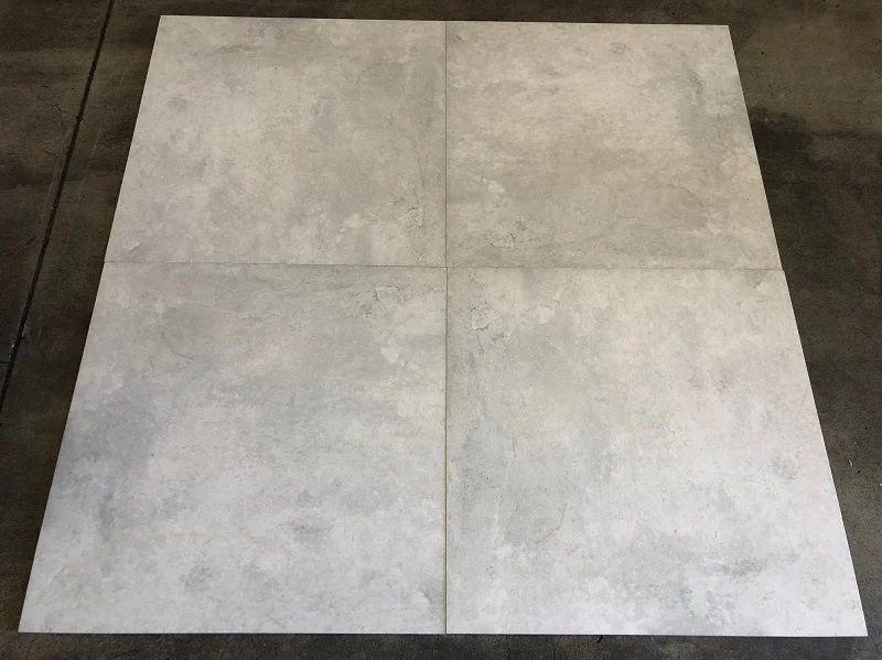 vloertegel 6060 cm betonlook licht grijs